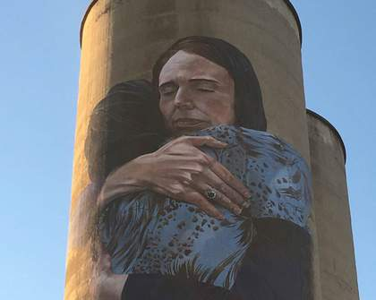 A Huge Mural of New Zealand Prime Minister Jacinda Ardern Is Now Gracing a Melbourne Silo