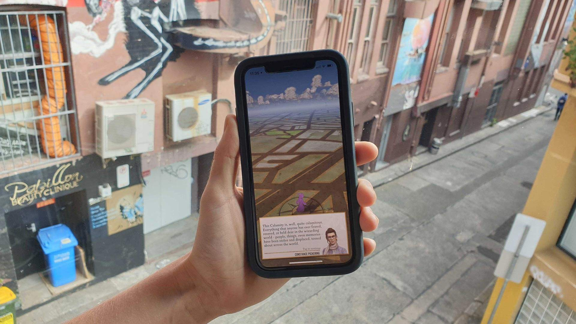 You Can Play the New Pokémon Go-Style Harry Potter Game on Your Phone Right Now