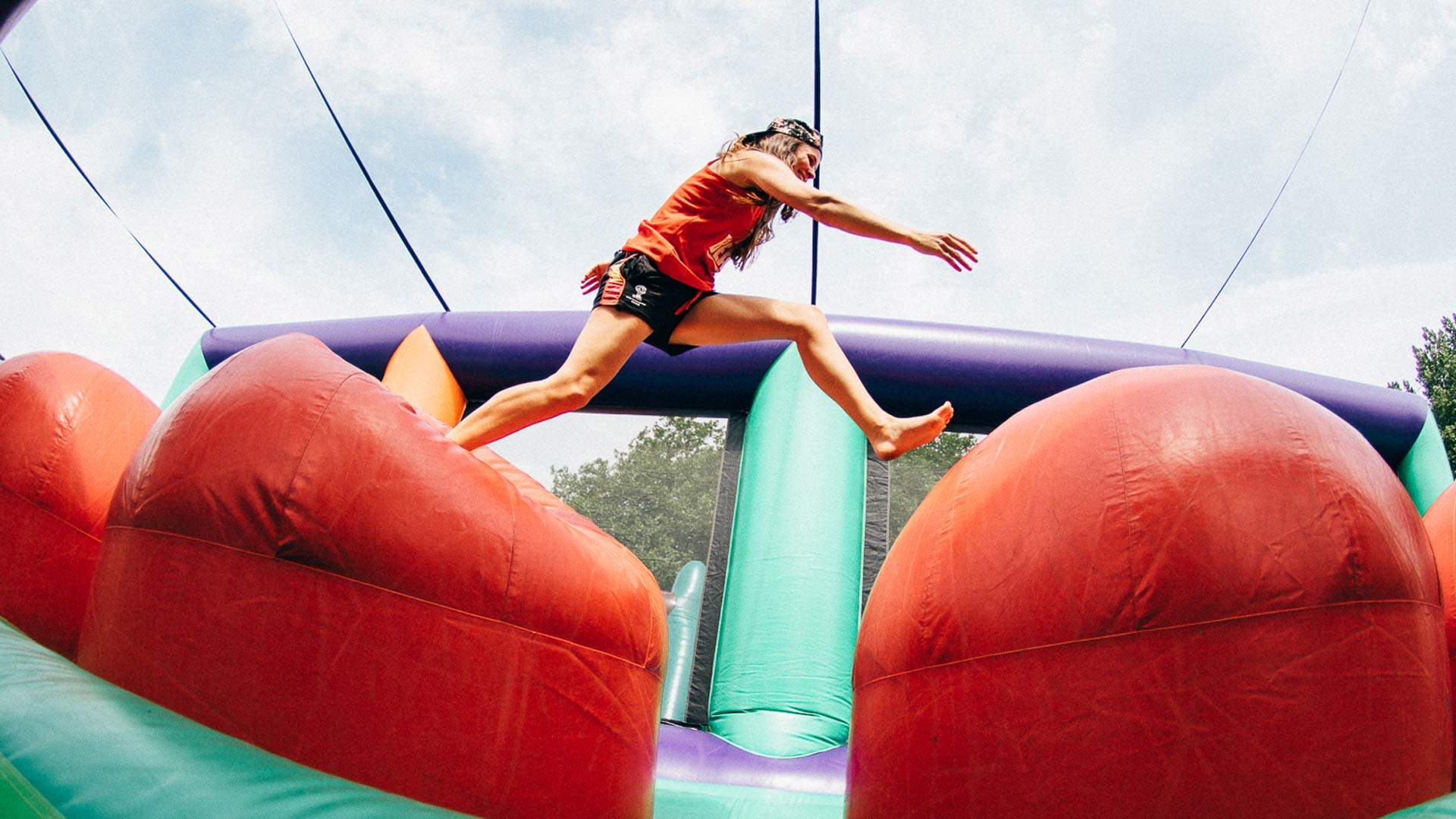 A 300-Metre-Long Inflatable Obstacle Course for Adults Is Coming to Australia