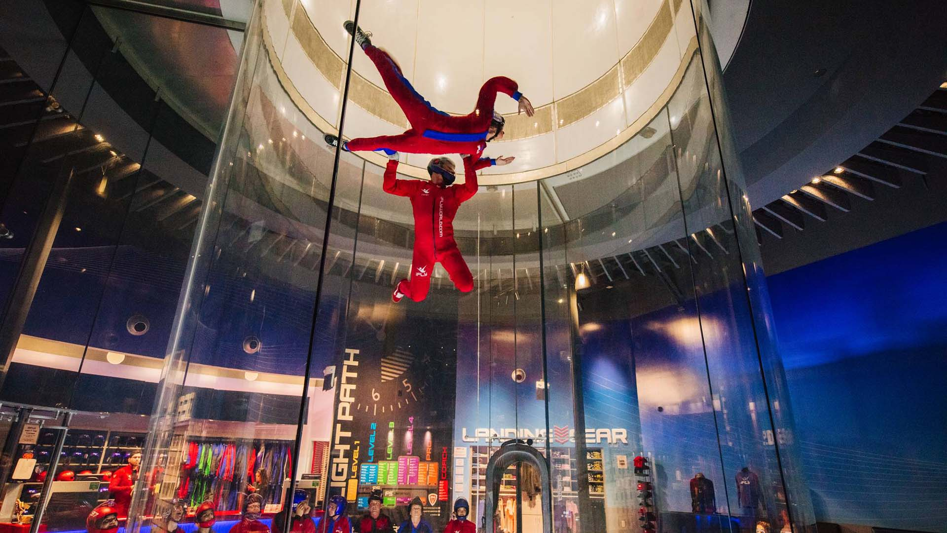 iFly Is Melbourne's Multimillion-Dollar New Indoor Skydiving Centre
