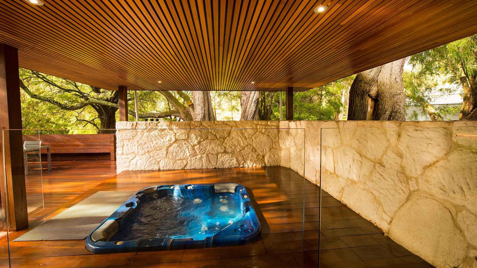 Losari Retreat in Margaret River with private hot tubs