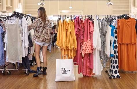 Big Fashion Sale Online Pop-Up Event