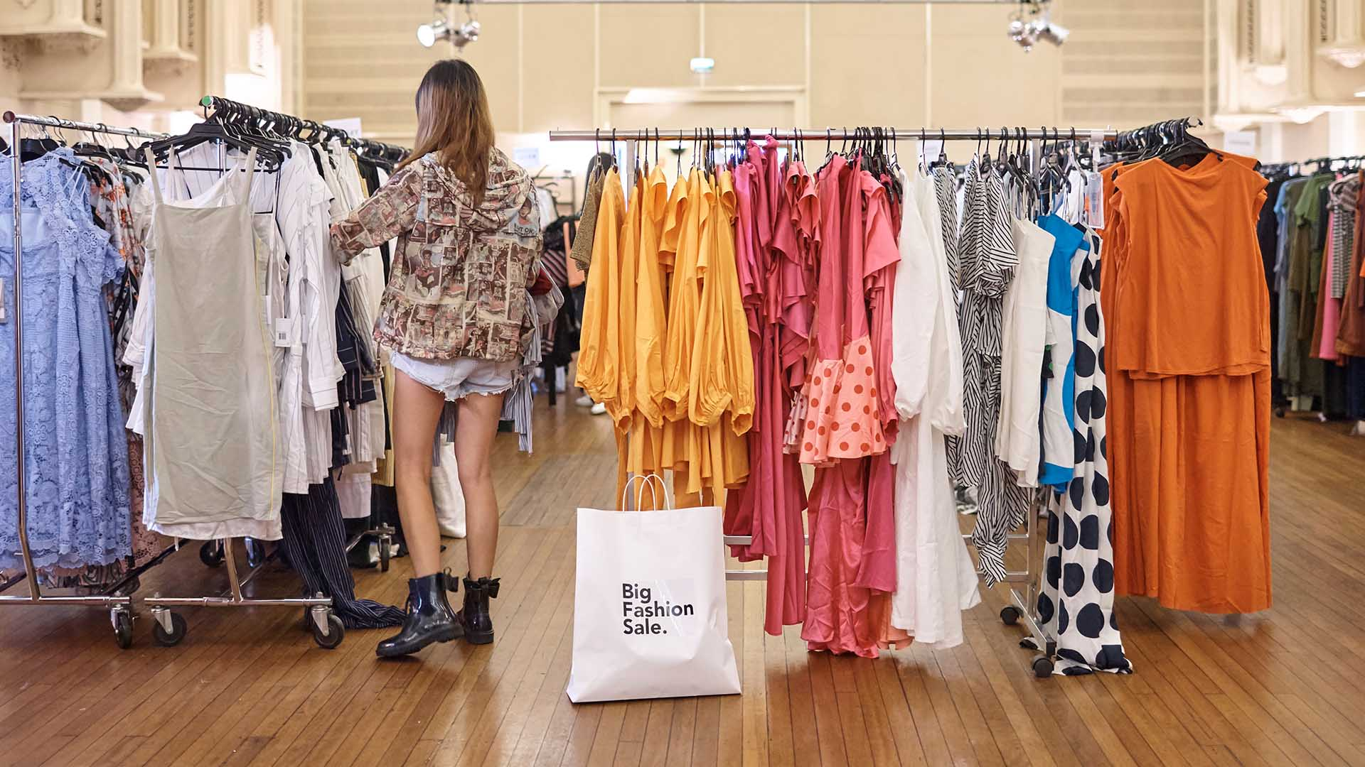 Big Fashion Sale Pop-Up 2019