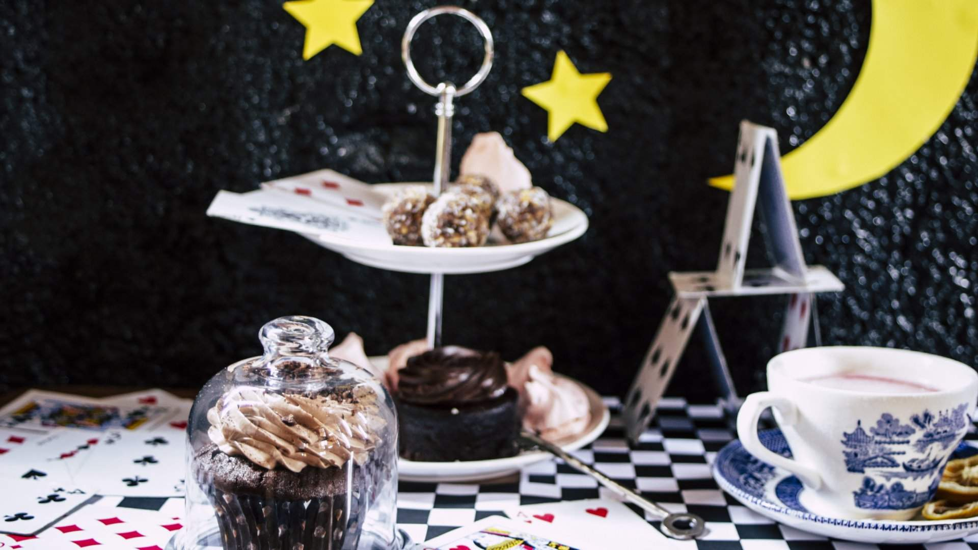 Mad Hatter's Midnight High Tea