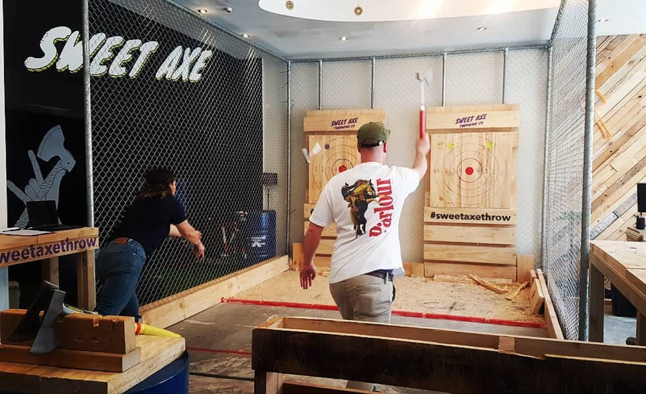 Auckland's First Urban Axe-Throwing Experience Opens Next Month