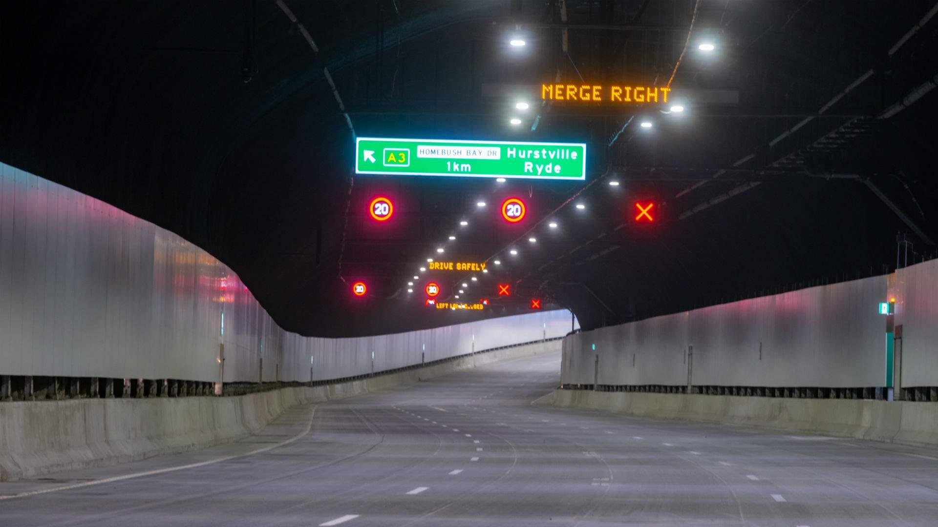 The First Underground Section of Sydney's $16.8-Billion WestConnex Will Open This Weekend