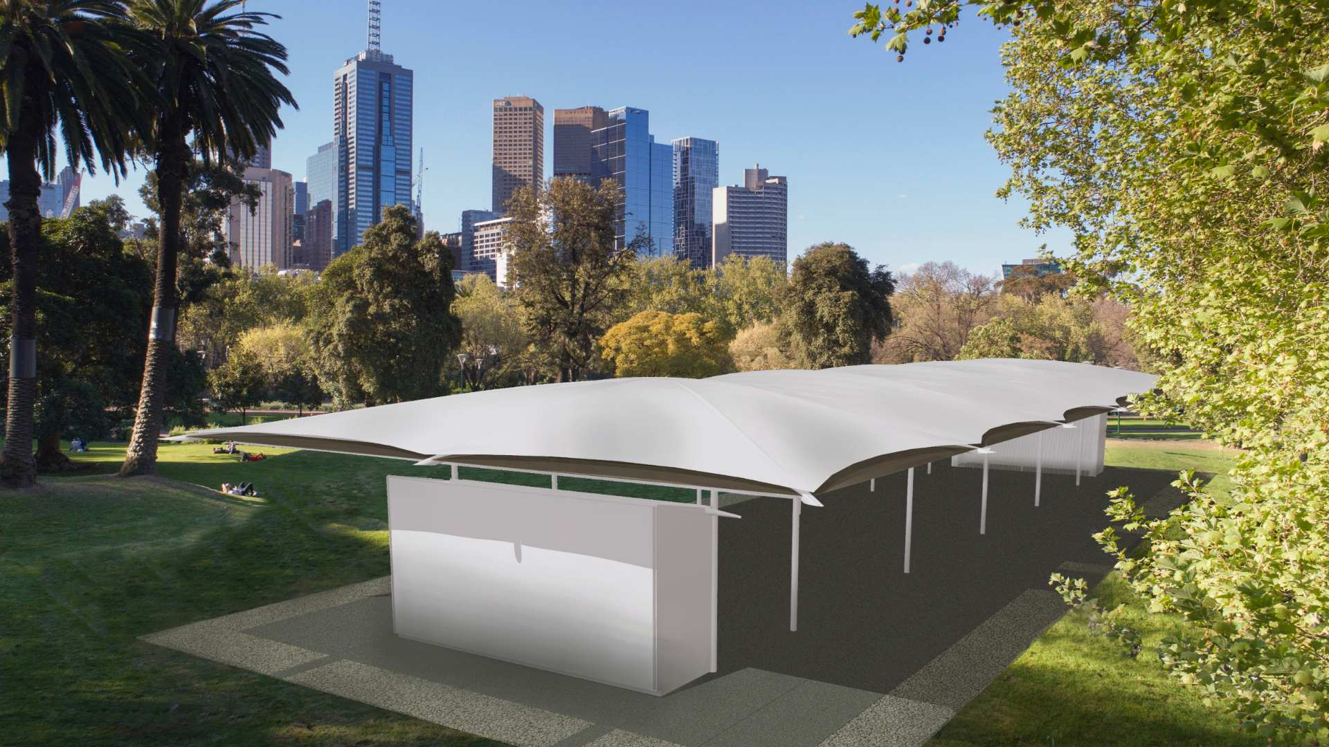 The Minimalist Design for Melbourne's 2019 MPavilion Has Just Been Unveiled
