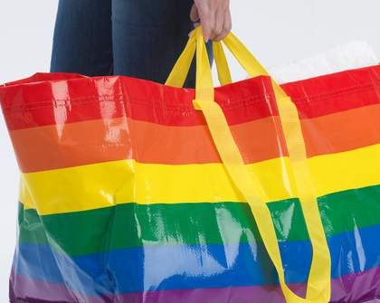 IKEA Has Dropped a Limited-Edition Rainbow Version of Its Famed Frakta Bag
