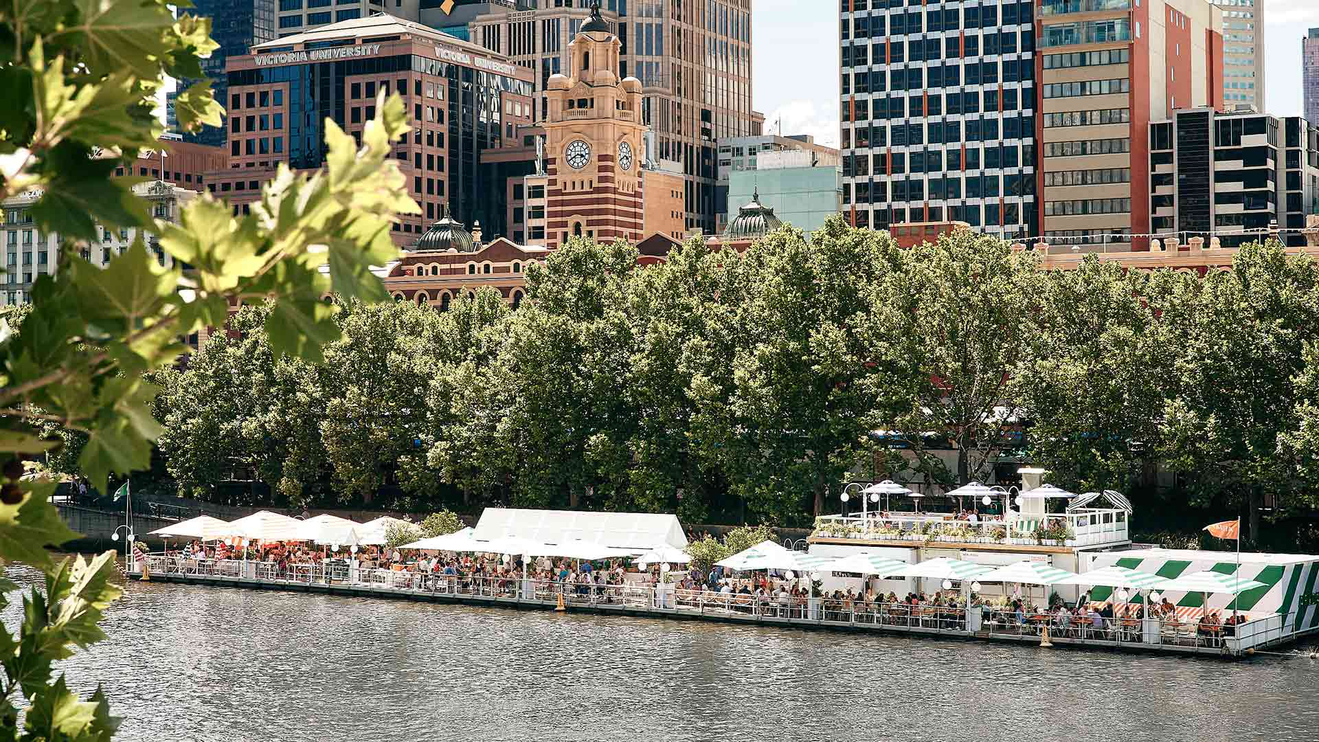 Arbory's Floating Bar Is Returning to the Yarra with Aussie Beach House Vibes and an Onboard Pool