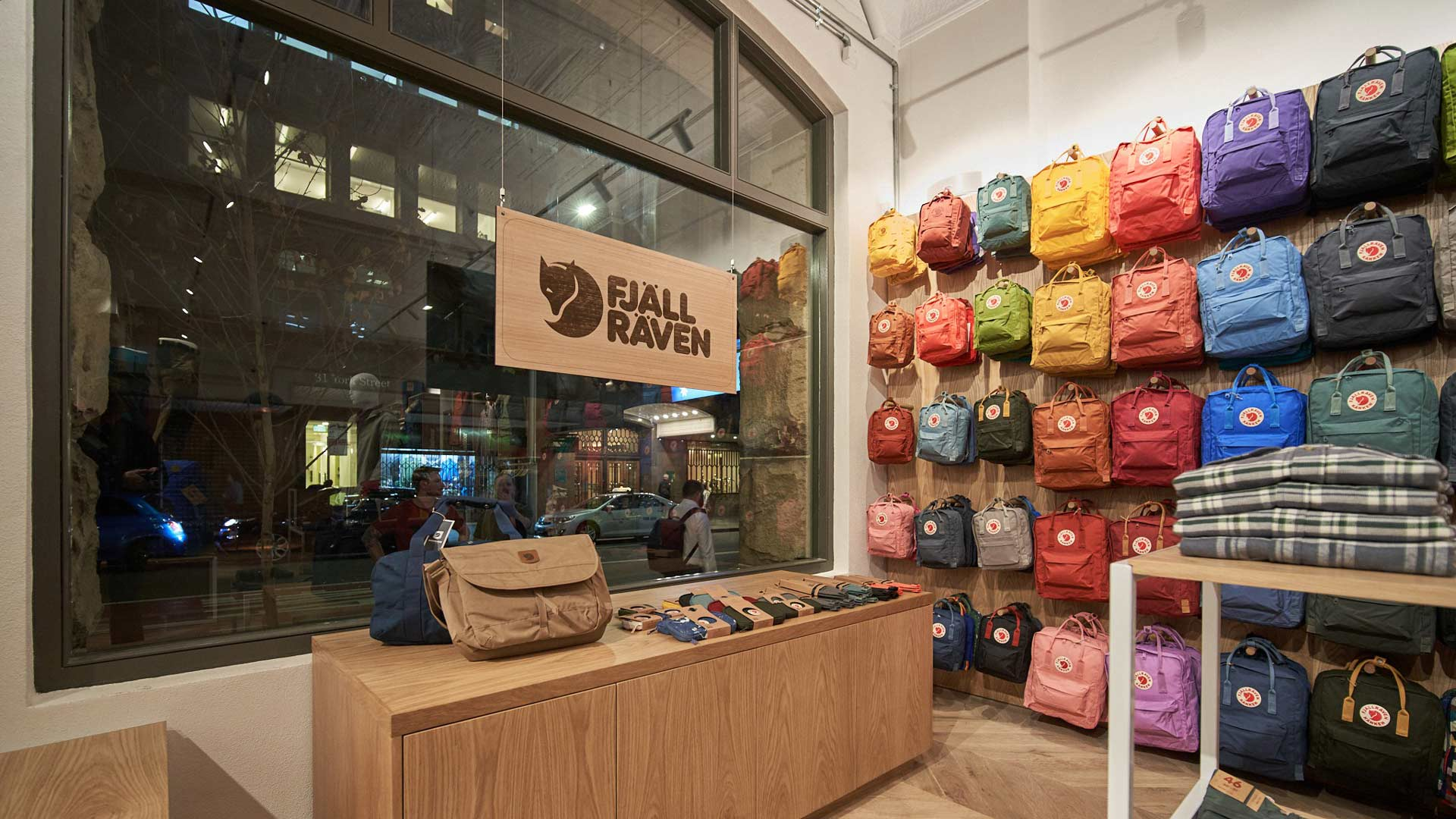 Swedish Outdoors Brand Fjallraven Has Opened Its First Sydney Store