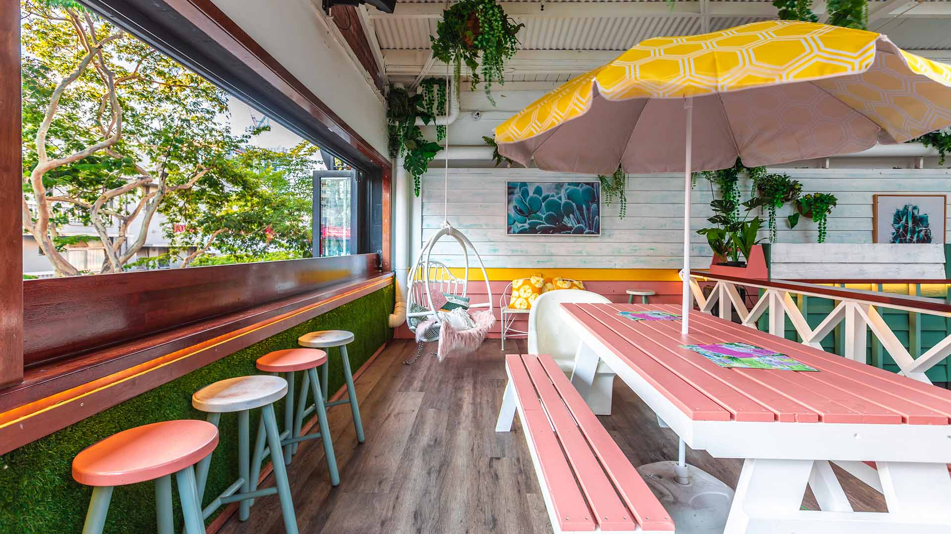 Ivory Tusk Is Fortitude Valley's New Palm Springs-Inspired Bar with a Garden Terrace