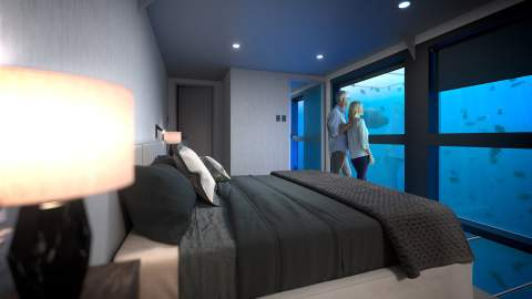 The Great Barrier Reef Is Set to Score Its First Underwater Hotel