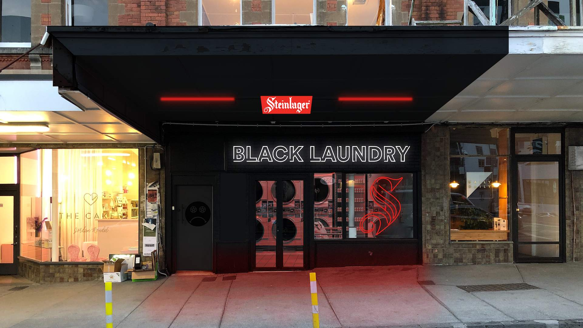 Steinlager Black Laundry