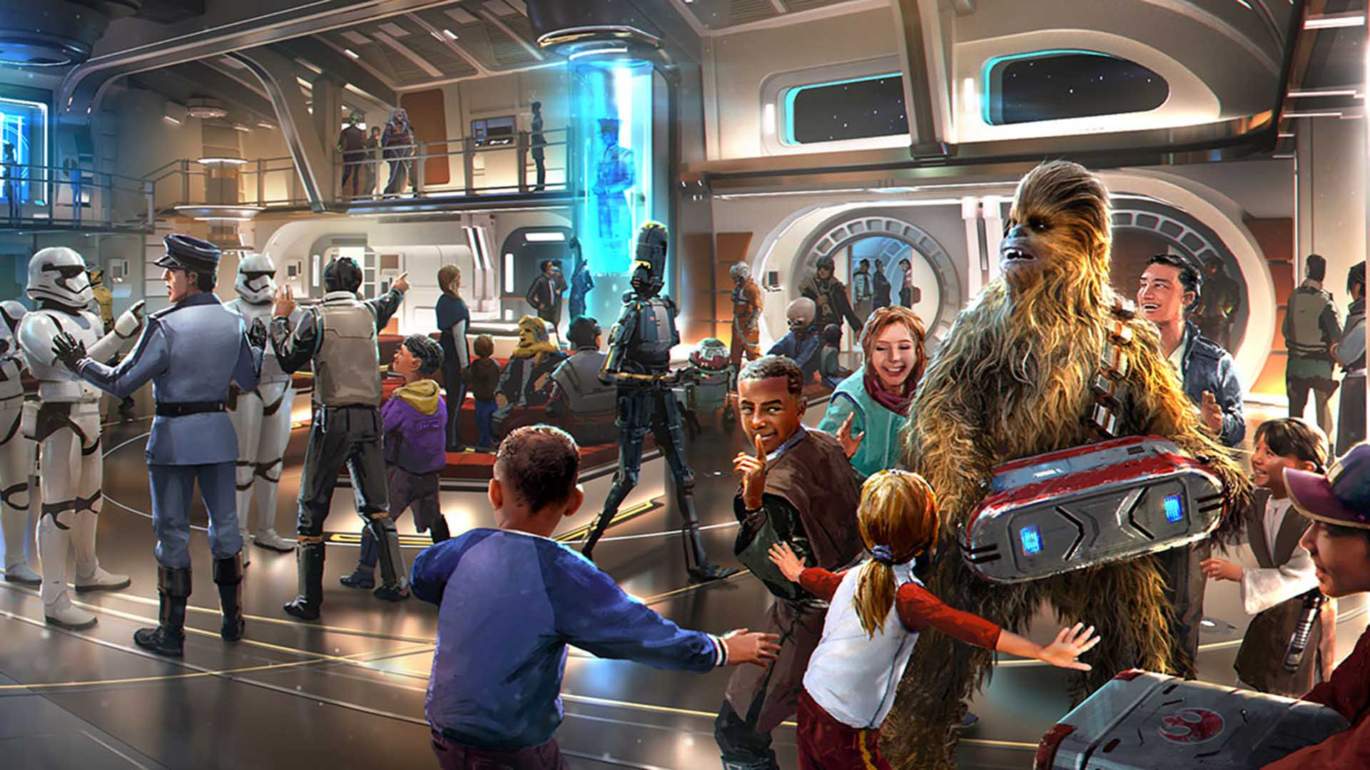 You Will Soon Be Able to Stay Onboard an Immersive 'Star Wars' Spaceship