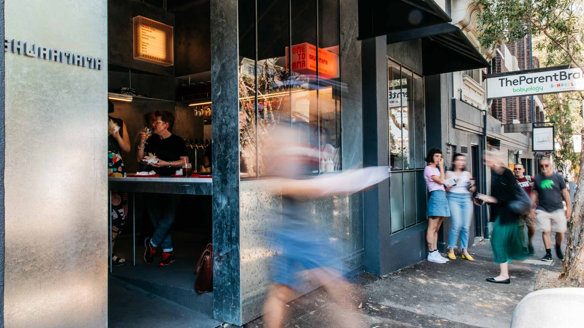 Shwarmama Is Surry Hills' New Hole-in-the-Wall Kebab Shop by Ester's Mat Lindsay