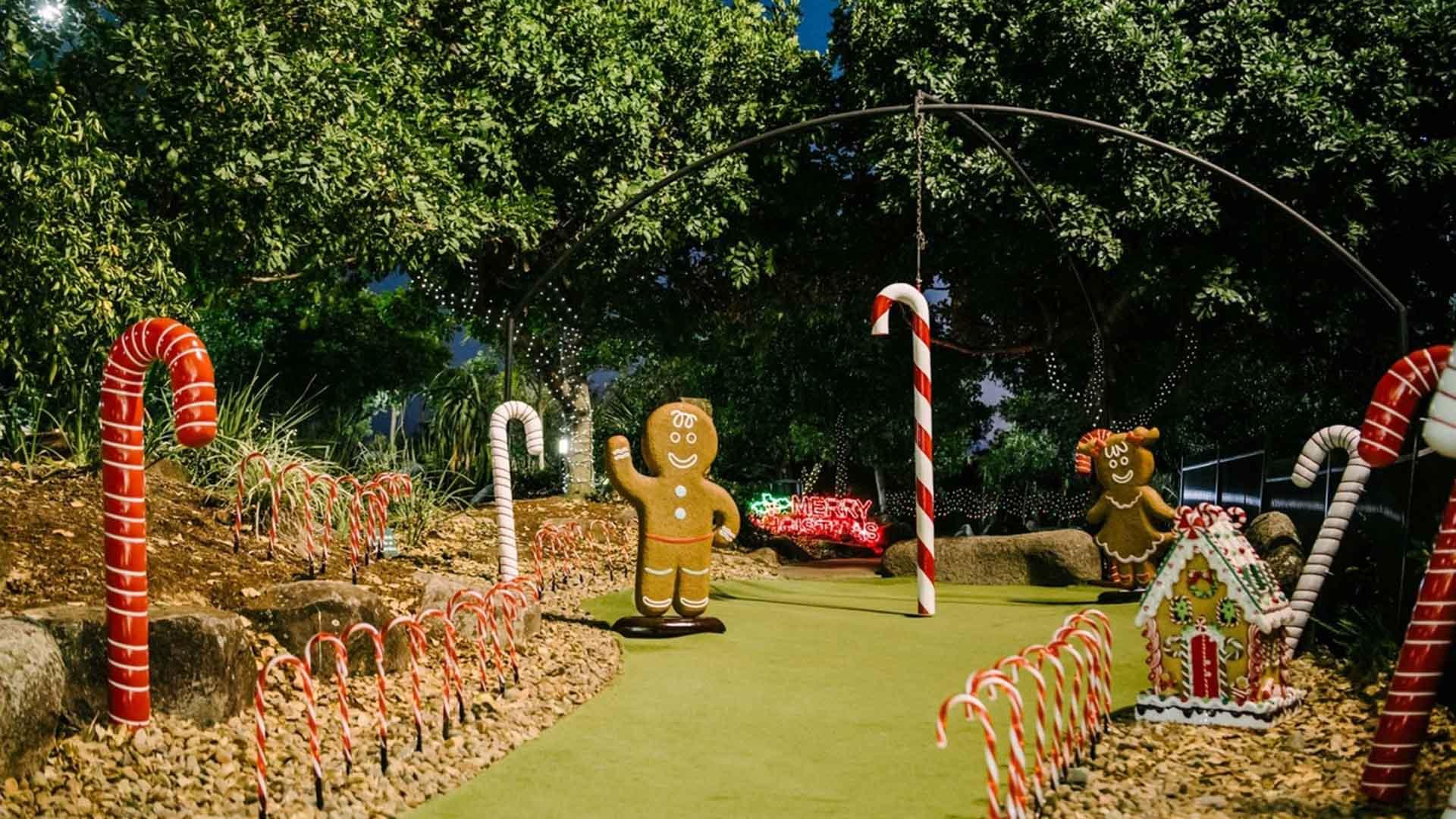 Victoria Park Christmas Putt Putt