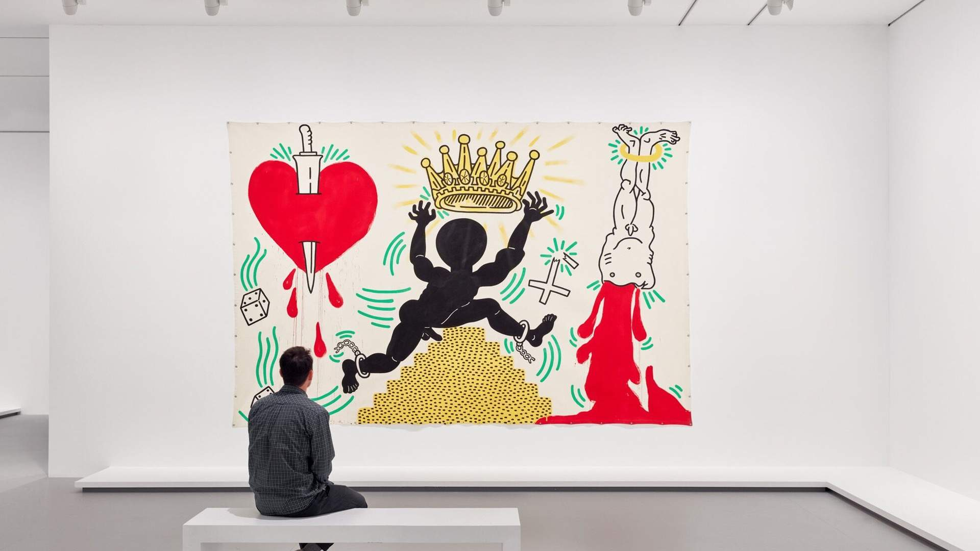 Six Works to See at the NGV's World Premiere Keith Haring and Jean-Michel Basquiat Exhibition