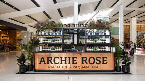 Archie Rose Has Opened a Pop-Up Cocktail Bar in Sydney Airport's International Terminal