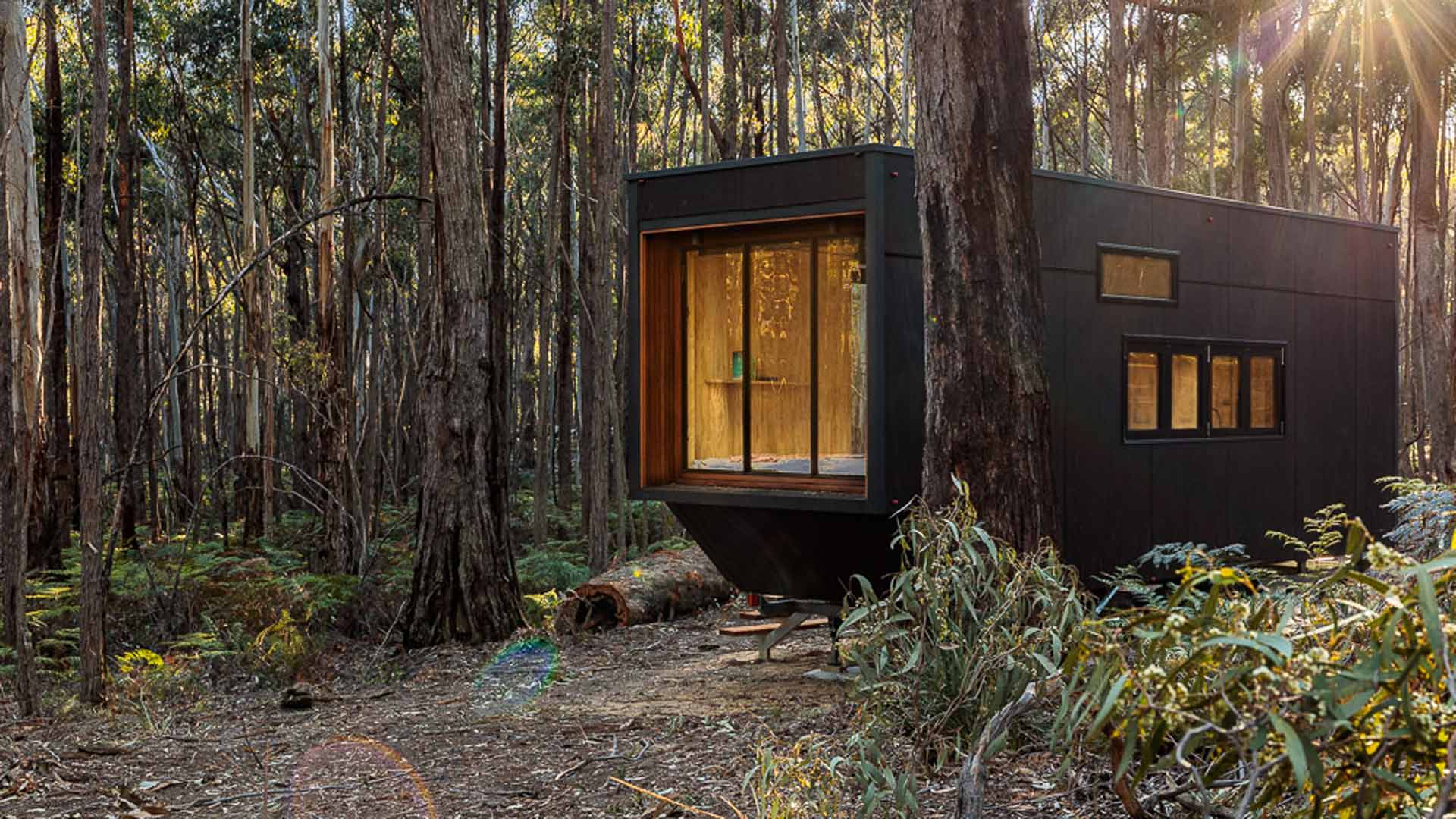 Cabn Lets You Stay in Your Own Tiny Solar-Powered House in the Victorian Wilderness