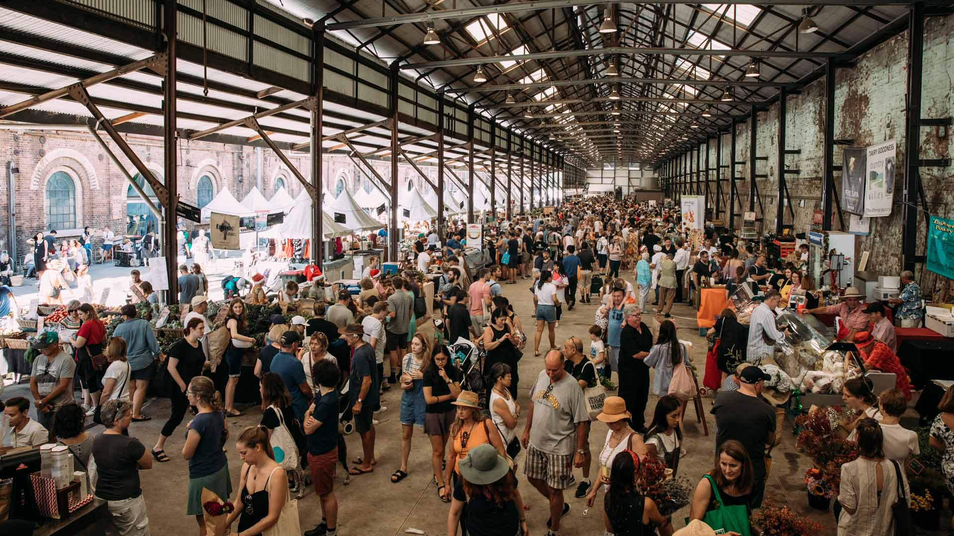 Carriageworks Christmas Farmers Market 2019