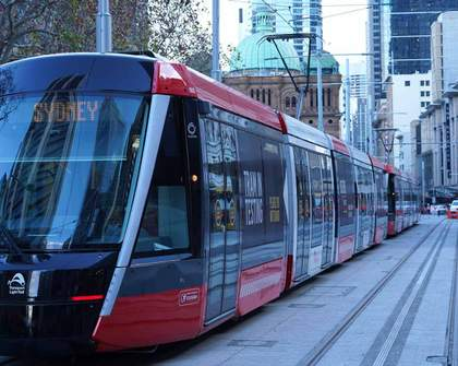 Just In Time: Sydney's South East Light Rail Is Finally Complete
