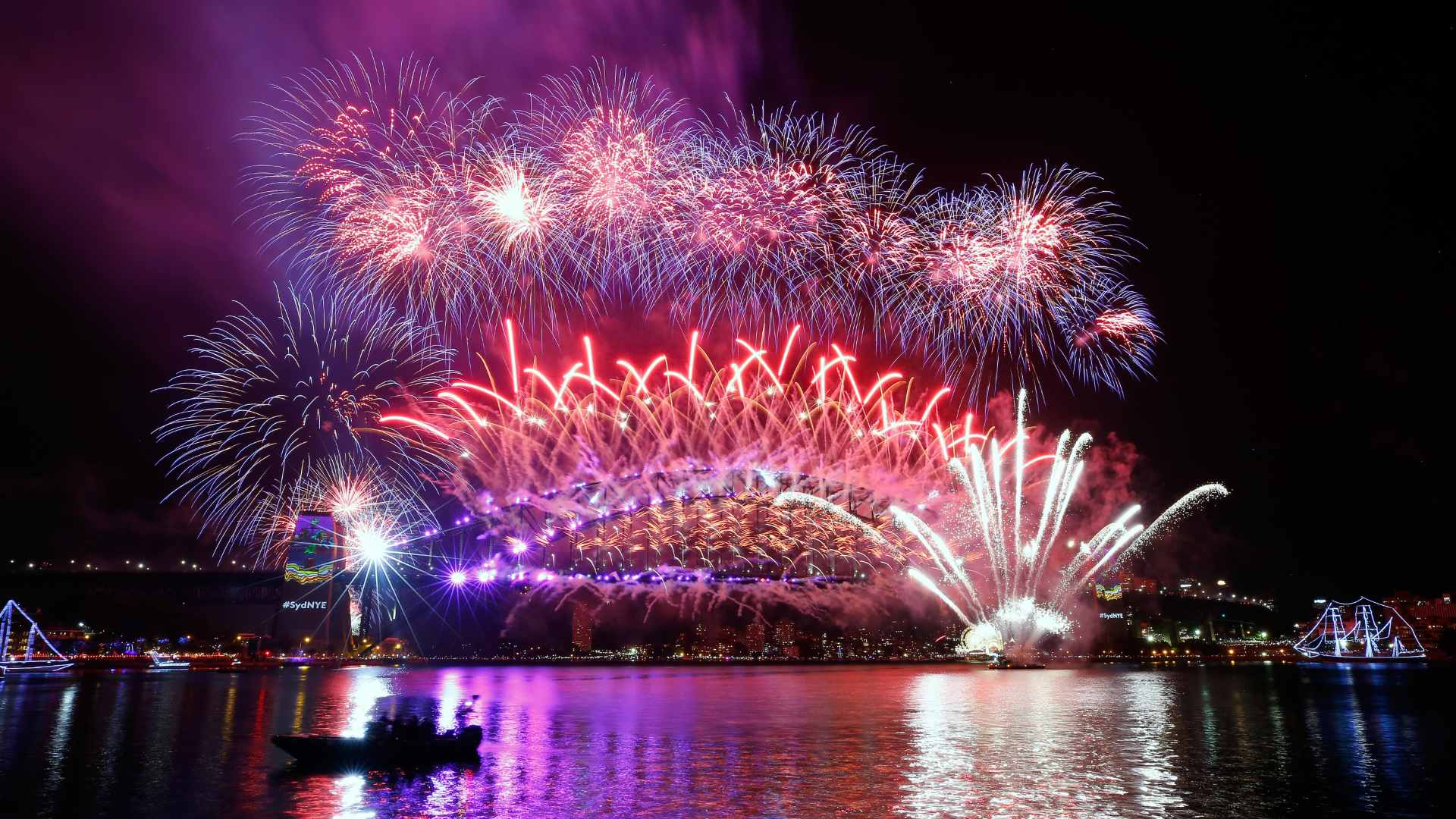 Sydney's 9pm New Year's Eve Fireworks Have Been Cancelled for the Second Year in a Row