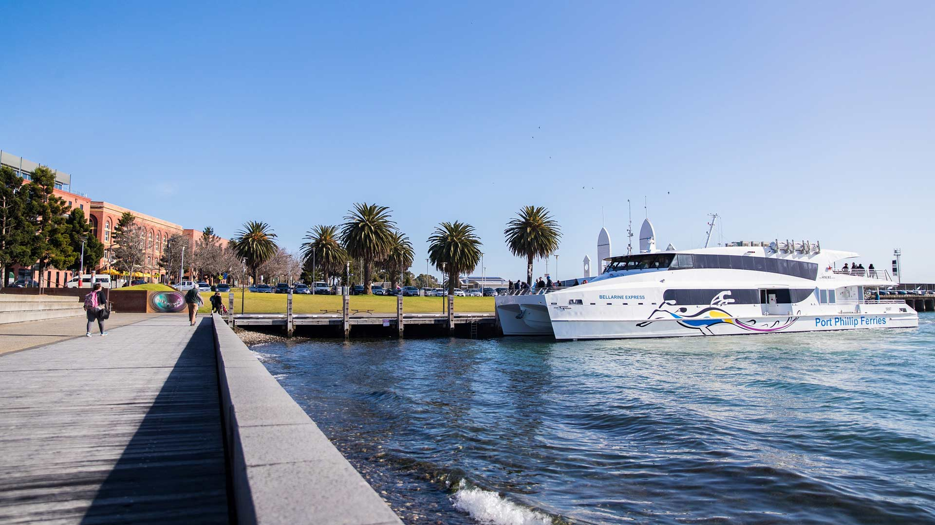 Melbourne's New Regular Commuter Ferry from Geelong to Docklands Launches Next Week