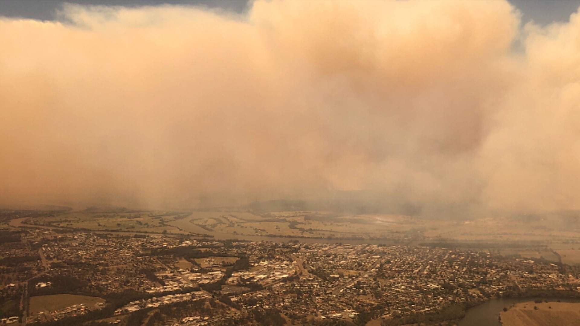 A Haze of Bushfire Smoke Is Currently Affecting the Air ...