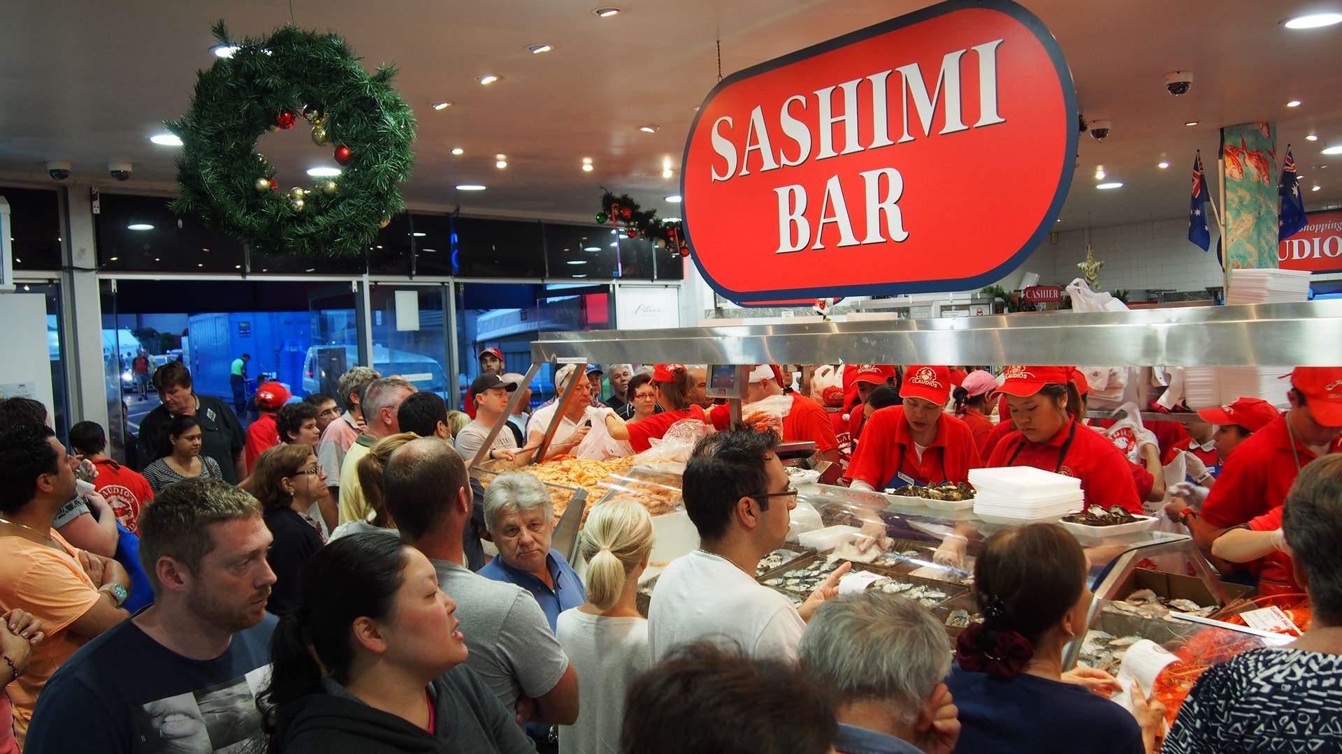 Sydney Fish Market 36-Hour Seafood Marathon 2019