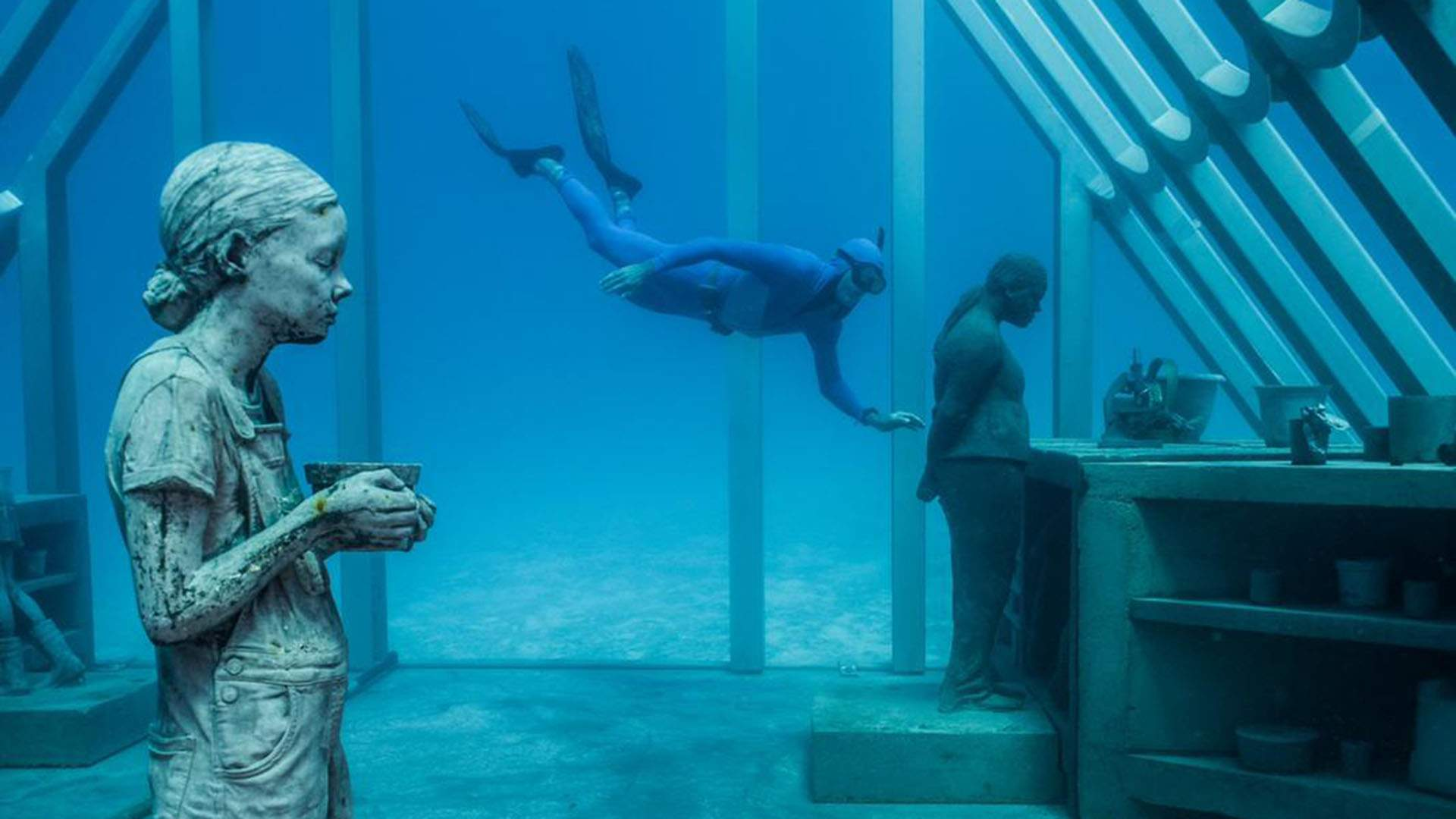 You Can Now Dive Beneath the Sea to Tour Australia's Museum of Underwater Art
