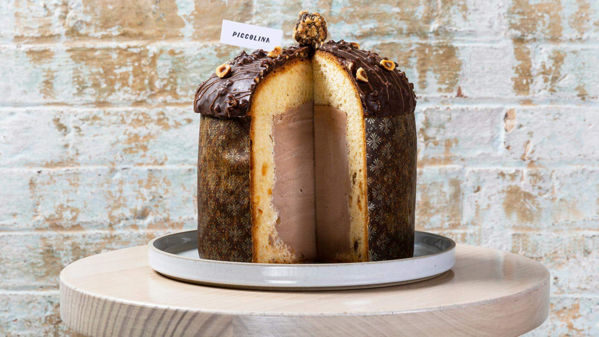 Piccolina Has Released a New Nutella Gelato-Stuffed Panettone Just in Time for Christmas