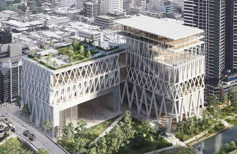 The Site of the Future $645 Million Powerhouse Museum Copped Lots of Flooding Over the Weekend