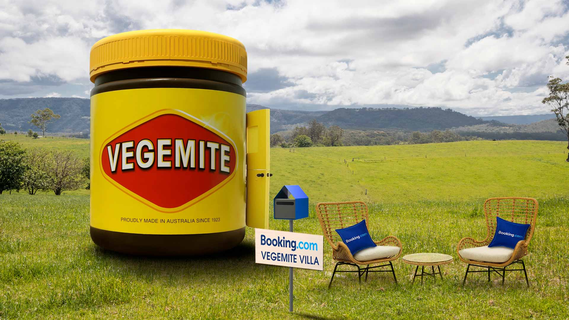 A Vegemite Jar-Shaped Tiny House Is Popping Up in NSW