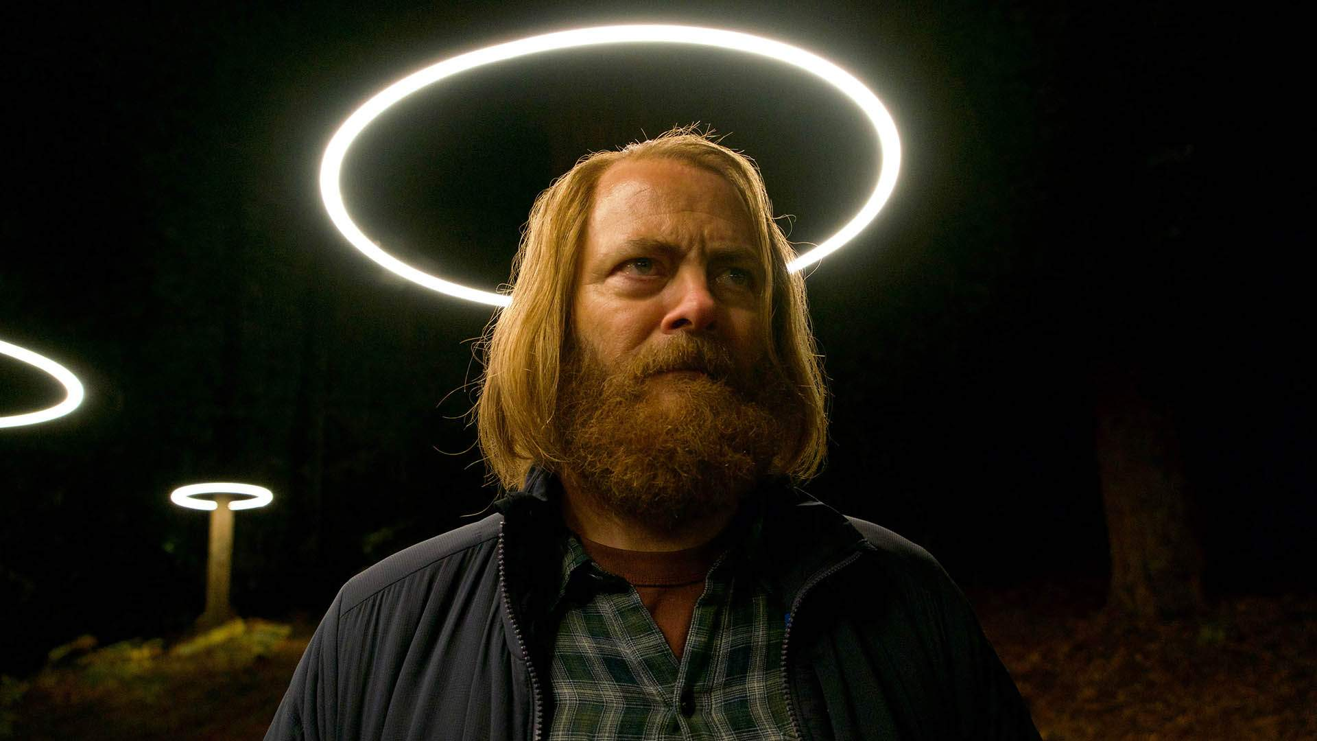 The Trailer for New Sci-Fi Series 'Devs' Delivers Futuristic Thrills and a Long-Haired Nick Offerman