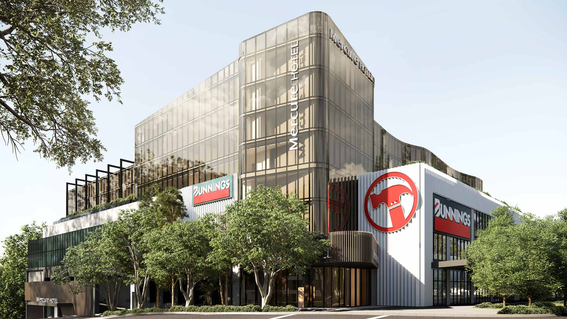 Melbourne Is Getting a New Hotel Above a Bunnings So You Can Rise and Snag