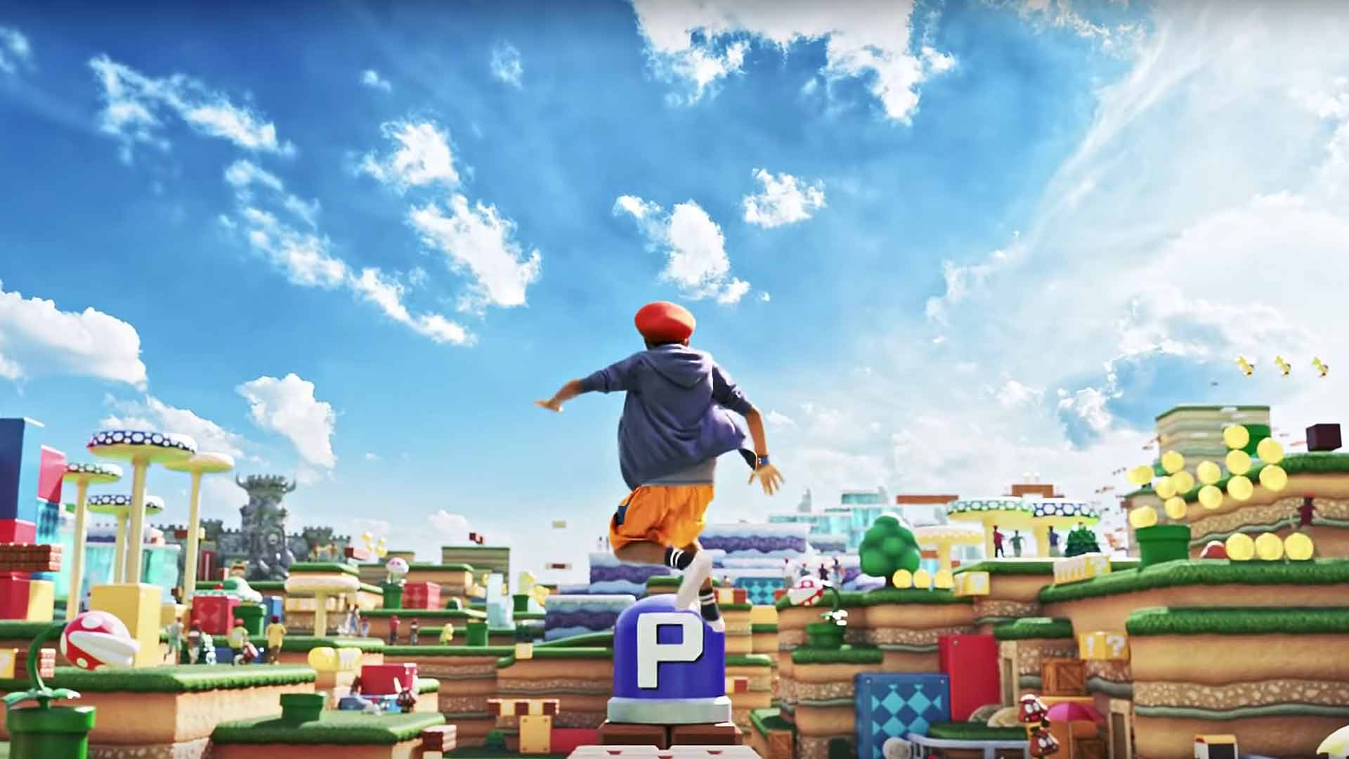 Japan's Multi-Level Super Nintendo Theme Park Is Set to Open This Year with a 'Mario Kart' Ride