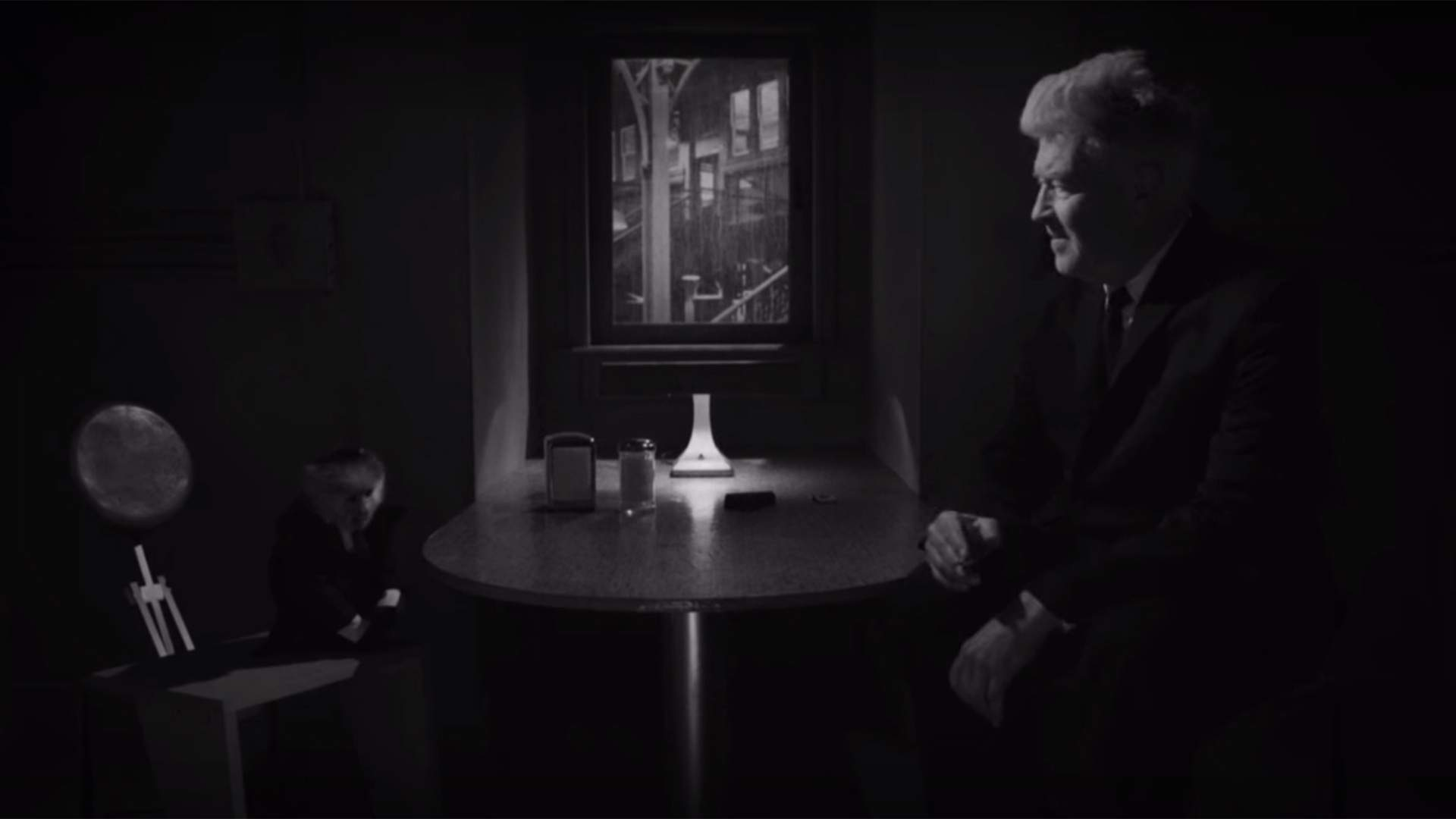 David Lynch Interrogating a Monkey Might Be the Strangest Thing You Can Add to Your Netflix Queue Right Now