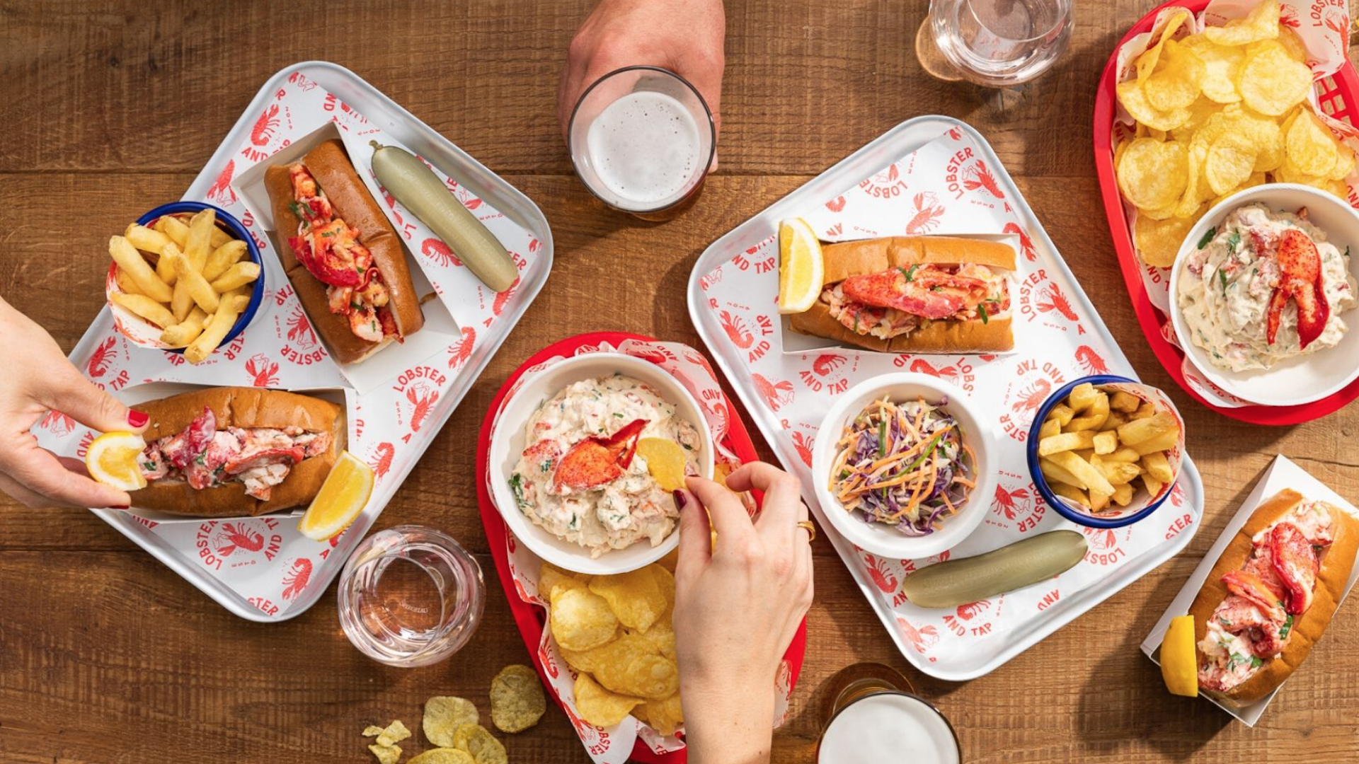 Auckland Fish Market's Latest Opening Serves Hot Buttered Lobster Rolls