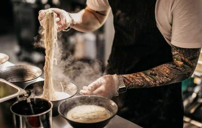 Background image for Sydney's Super-Popular RaRa Ramen Is Now Serving Up Its Brothy Bowls in Burleigh Heads