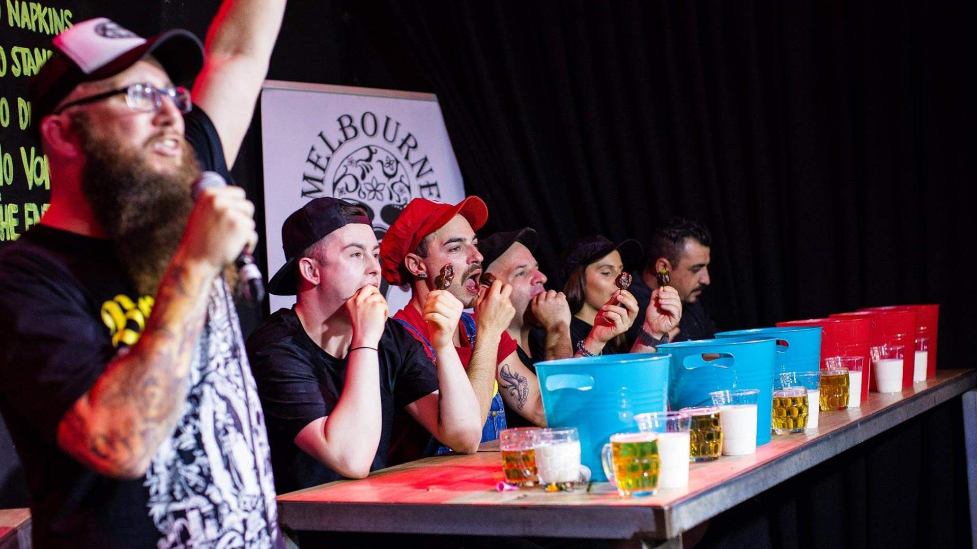 Melbourne Chilli Eating Championship 2021