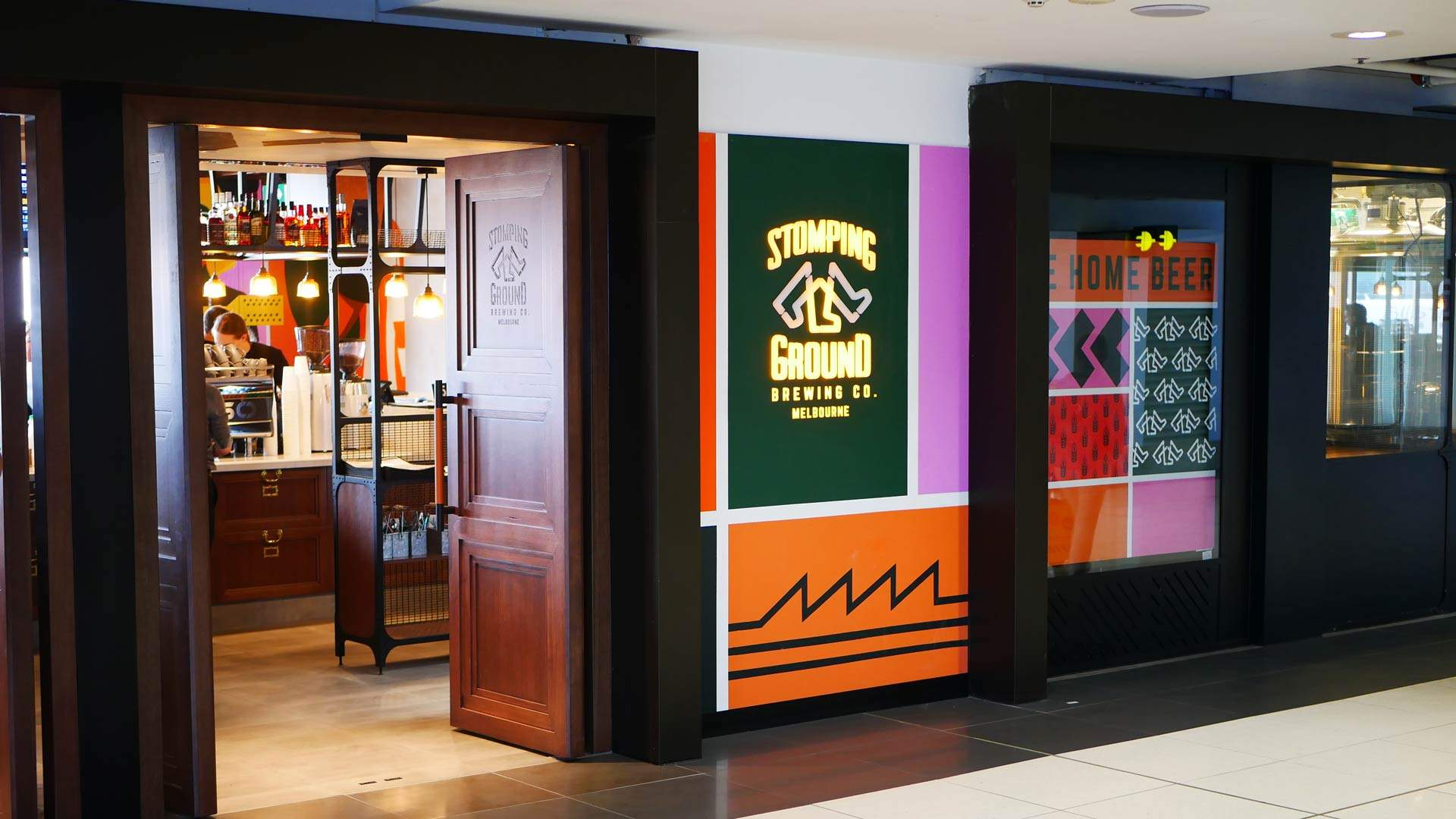 Stomping Ground's Melbourne Airport Brewpub Is Now Open for Pre-Flight Pints