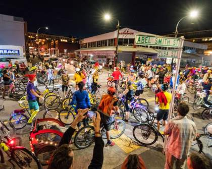 Moon Cycles Next-Level Bike Rave