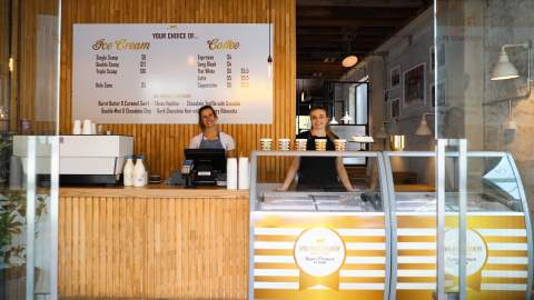 Takapuna Is Now Home to a Lewis Road Creamery Scoop Shop