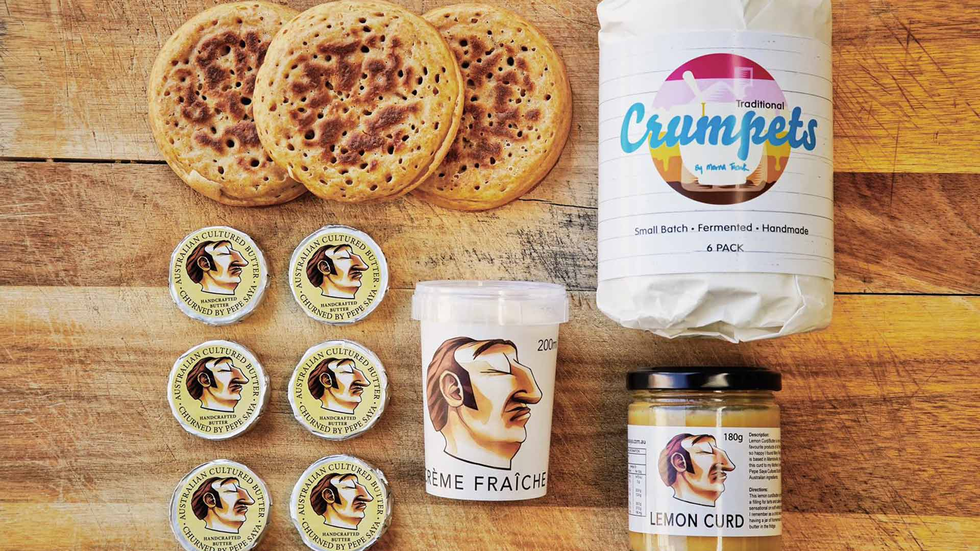Pepe Saya and Crumpets by Merna Are Now Delivering Lush Breakfast Boxes Across Australia