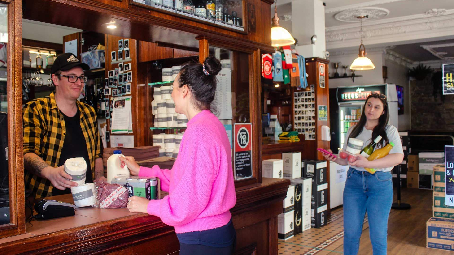 Australian Restaurants and Pubs Are Transforming Into Convenience Stores and Grocers
