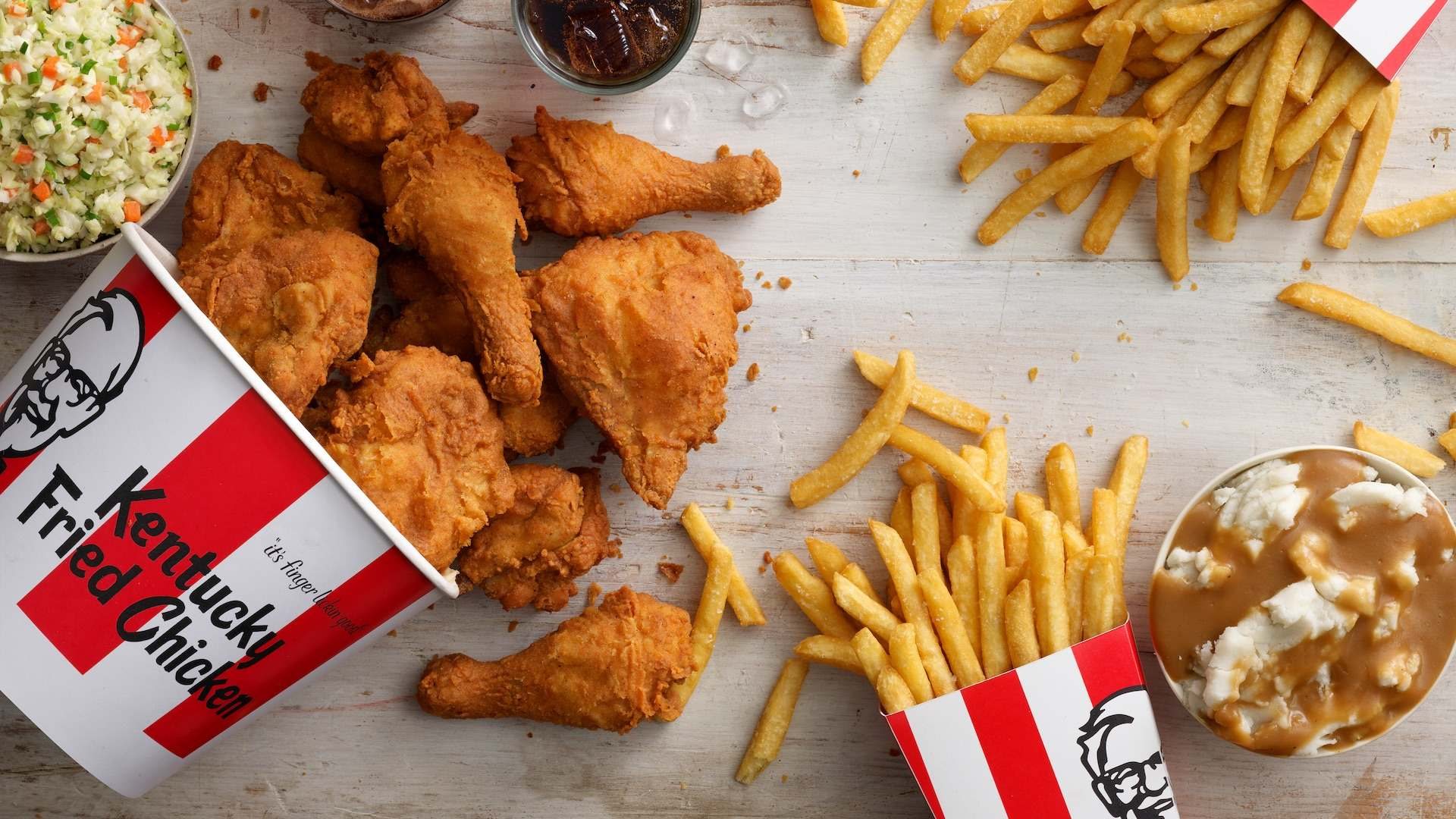 KFC Is Offering Free Delivery on Its Fried Chicken for the First Time This Easter