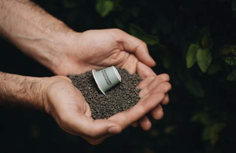 Tripod Coffee's Dirt Club Collects Your Used Coffee Pods and Turns Them Into Compost