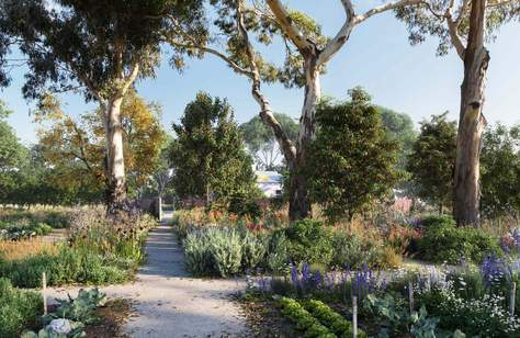 A Healing Garden Is Opening at Melbourne's Heide Museum of Modern Art This Year