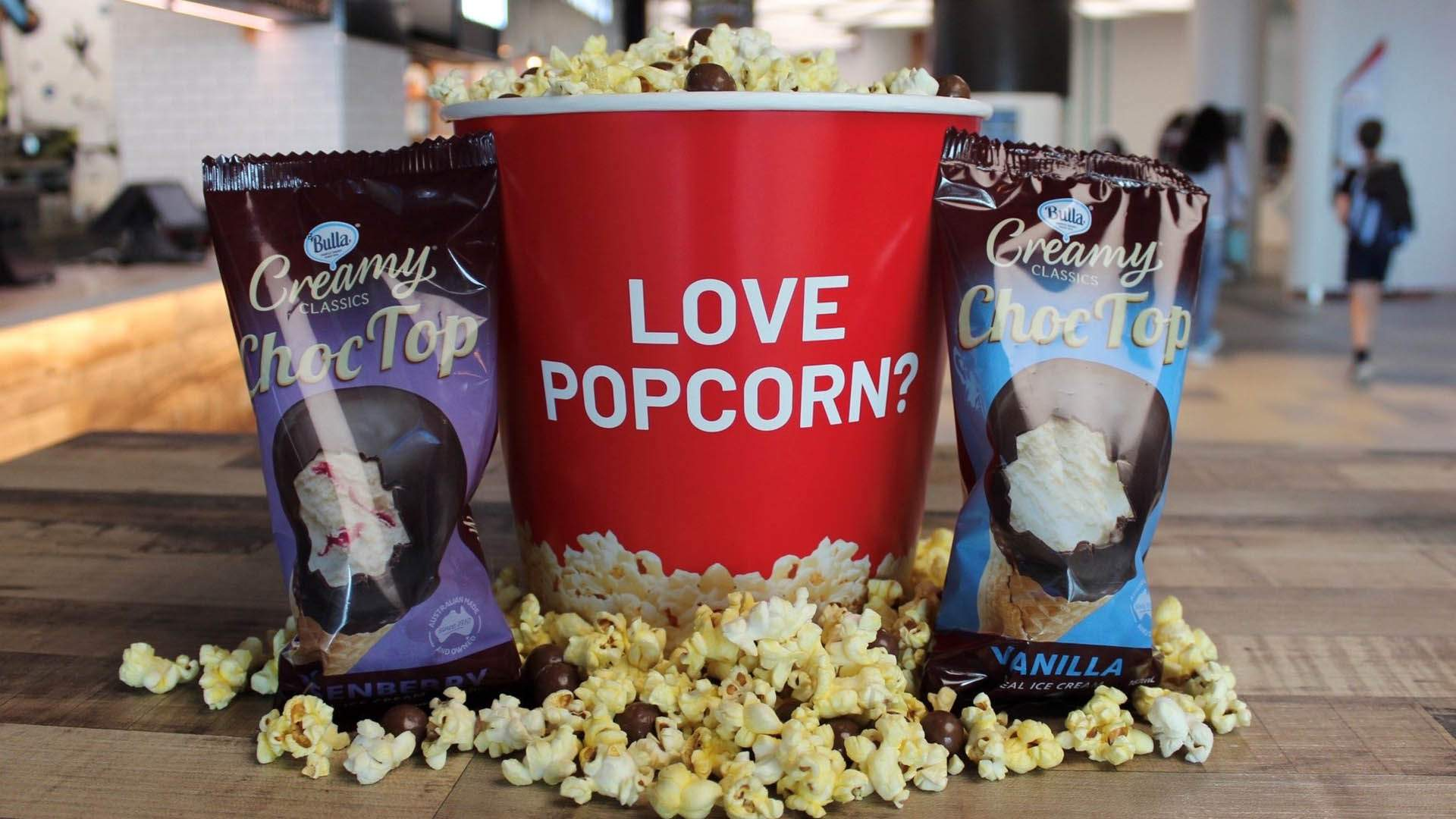 Hoyts Is Delivering Popcorn and Choc Tops So You Can Pair Your Home Viewing with Cinema Snacks