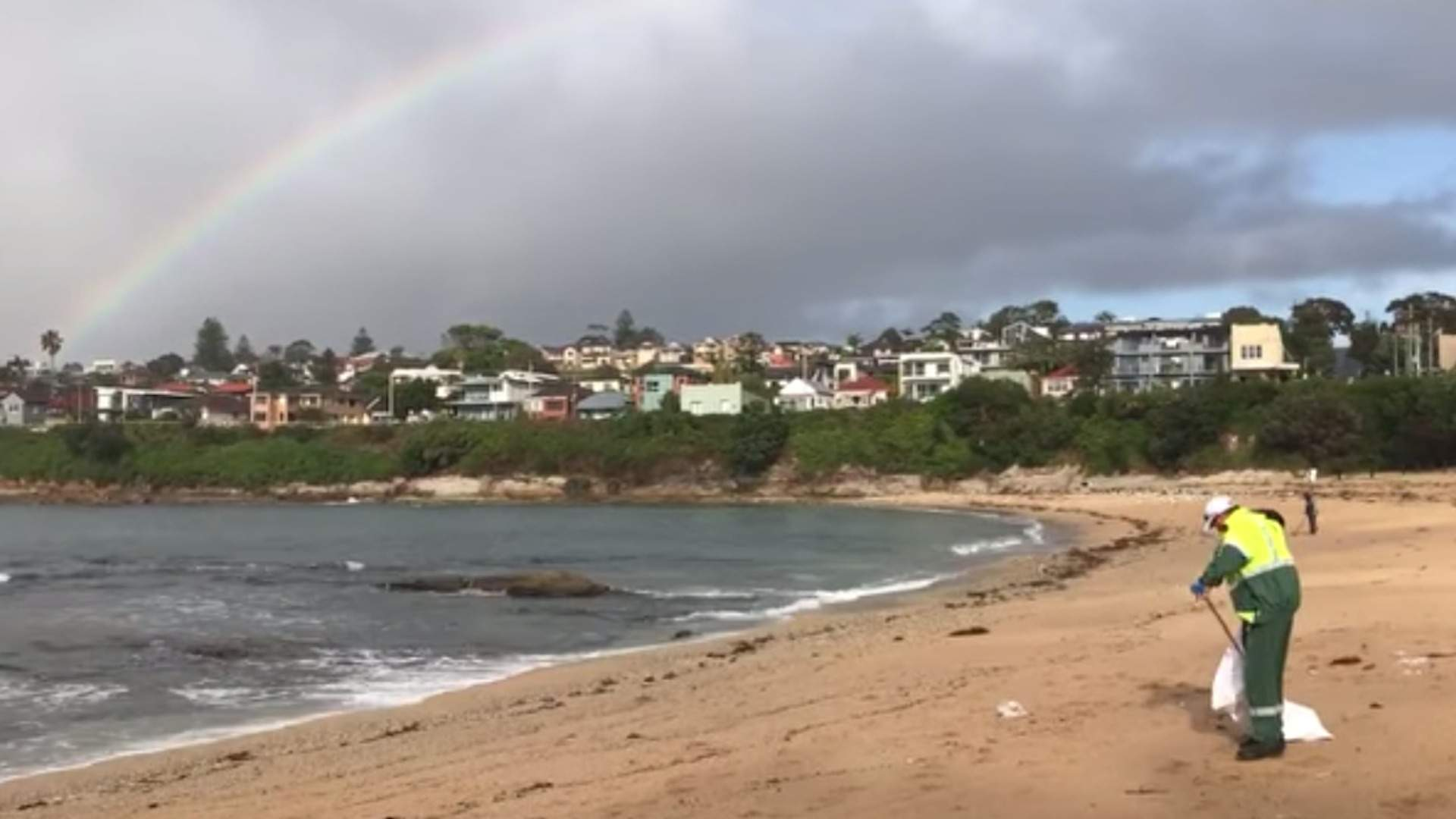 Randwick City Council's Beaches Have Been Closed Until Further Notice Because of Plastic Debris